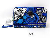 Vera Bradley Turn Lock Wallet BLUE BAYOU Turnlock NWT Exact Item K4