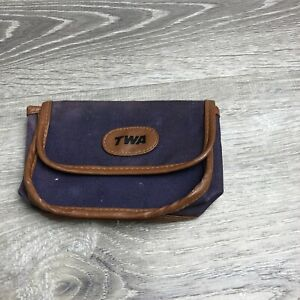 vintage twa bag amenity Snap Closure Small As Is