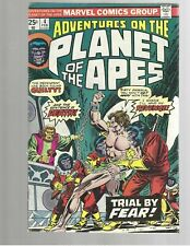 Adventures On The Planet Of The Apes #4 1976 Marvel Comic Fn>Vf 7.0