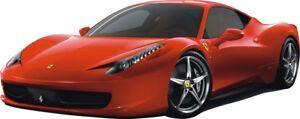 FERRARI 458 Italia WALL STICKERS CARS Sport for Kids Room Decor Sticker