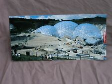 Extra - Long Postcard.Panoramic View Of THE EDEN PROJECT Under Construction.2000