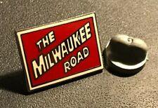The Milwaukee Road Railroad Train Pin Tie Tack Memorabilia