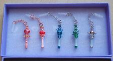 Sailor Moon Earphone Jack Accessory Set of 5 Part 2 Rod Outer Senshi