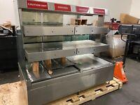 HARDT In-Line ZONE-6 Hot Case 3 Tier Chicken Warmer Good Working Condition