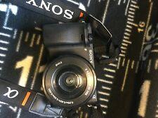 Sony Alpha A6300 24.2MP Mirrorless Digital Camera - Black (Kit with 16-50mm...