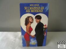 So I Married an Axe Murderer (VHS, 1994) Mike Myers Nancy Travis