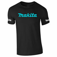 MAKITA POWER TOOLS TSHIRT Tee Top Tradesman Builders Electrician Adults
