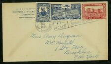 Dominican Republic 1929 Airmail Santo Domingo to Ny franked Scott C1, 243, 252