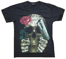What Do You Want TESCHIO ROSA O gun heavy metal Designer TESCHIO T-SHIRT M