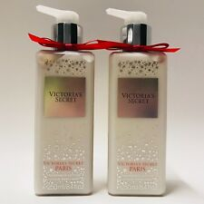 2 Victoria's Secret Bombshell à Paris Parfum Lotion corporelle 8.4 fl.oz 250 ml