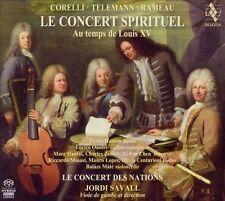 Le Concert Spirituel: Au temps de Louis XV Super Audio Hybrid CD (CD,...