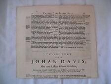 Théodore de BRY -  [Petits Voyages] - Voyage de JOHAN DAVIS