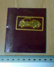 24k Gold Plated Taxi Page Marker