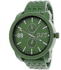 Runde nicht wasserbeständige Armbanduhren aus Kunststoff