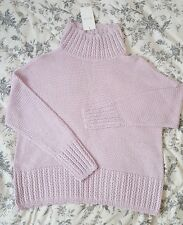 VILA CLOTHES | Knitted Sweater / Jumper | Medium | Lilac | Brand New with Tags