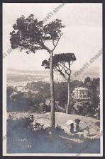 GENOVA CITTÀ 734 Cartolina FOTOGRAFICA viaggiata 1922 (Foto NEER 120 ???)
