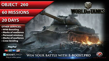 World of Tanks | Obj. 260 (60 missions)  | not bonus code | WoT