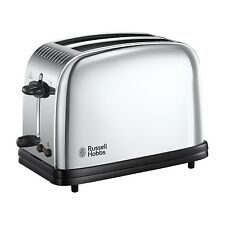 Russell Hobbs 23310 Classic Long Slot 2 Slice Toaster - Stainless Steel S... NEW