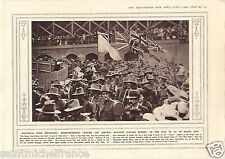 Soldiers Central Railway Station Sydney Australia  Pigeon WWI 14 18 PLANCHE 1916