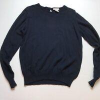 Talbots Womens Size Small Dark Blue Cotton Sweater A489