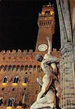 Italy Firenze Rape of the Sabiens and Tower of Arnolphe, Turm