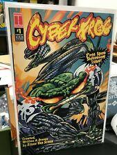 Cyberfrog #1 Harris Comics Ethan Van Sciver 1996 vf/nm