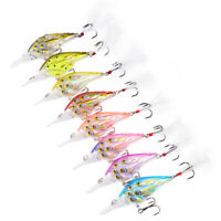 Group Fishes Hard Bait Fishing Lure Crankbait Floating Artificial Fishing Tackle