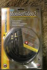 MonsterVideo2 4m S-Video Cables