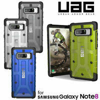Urban Armor Gear (UAG) Samsung Galaxy Note 8 Plasma Tough Case Black Yellow Blue