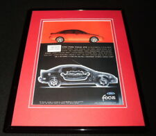 2002 Ford Focus ZTS Framed 11x14 ORIGINAL Vintage Advertisement