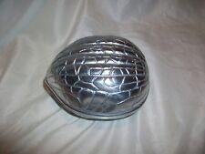 GSA Godinger Silver Art Co Walnut Nut Covered Dish Metal