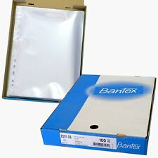 Bantex 2051 heavy duty A4 archival page protectors box of 100