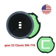 NEW For Samsung Gear S3 Classic SM-R770 Back Rear Glass Cover Case Adhesive US