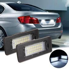 Error Free LED License Number Plate Light Lamps For BMW E46 E60 E61 E90 5 Series
