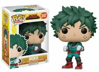 Funko Pop My Hero Academia DEKU #247 #248 Vinyl Figure Collectible Model Toys
