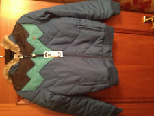 Womens Blue DC Shoes parka coat NEW - size small ^