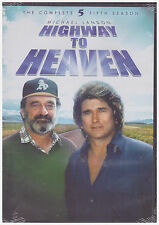 HIGHWAY TO HEAVEN SEASON 5 (DVD, 2014, 3-Disc Set) NEW