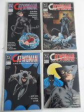 4x Catwoman nº 1-4 (mini series estados unidos/us DC cómic de 1989) - estado 1