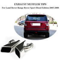 Exhaust Tips Muffler Pipe for Land Rover Range Rover Sport Gasline Petrol 05-08