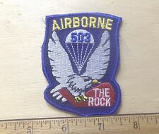 US Army - 503rd Airborne Infantry Regiment Embroidered Patch