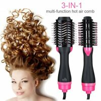 3 in 1 Pro Salon One-Step Hair Dryer and Volumizer Oval Brush Design Luxury