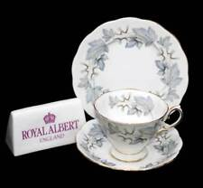 Vintage Royal Albert Silver Maple stunning teacup trio set