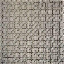 Mosaik Vetro cream matt mit Glas Fliesenspiegel Küche Art: 140-03C   10 Matten