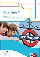 Blue Line 2, Workbook mit Audio-CD und Übungssoftware 6, Schuljahr | Buch | 9783
