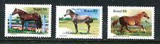 BRAZIL 1976-78, 1985 HORSES, MNH (BRZ015)