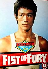Bruce Lee Fist Of Fury VHs Video Tape 1973 Classic Kung Fu Film Martial Arts