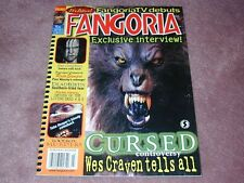 FANGORIA # 241  Wes Craven, Cursed, The Ring Two, Deadbirds FREE shipping USA