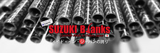 """Trout blank Suzuki Blank Rxf-4lb-681, Made in Japan, Ul 6'8"""", 1pc, Fast Action"""