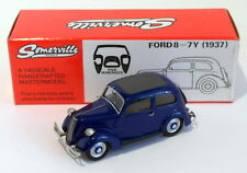 Somerville Models 1/43 Scale 503 - 1937 Ford 8 -7Y - Blue