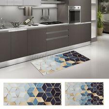 Non-Slip Waterproof Kitchen Door Bath Mat Home Floor Rug Carpet Easy Clean  !